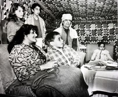 La famiglia Gheddafi