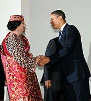 Gaddafi Gheddafi Obama