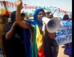 Donne manifestanti a Kidal