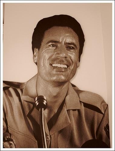 Muhammar Gheddafi