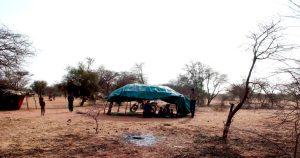 Campo profughi Tuareg in Niger