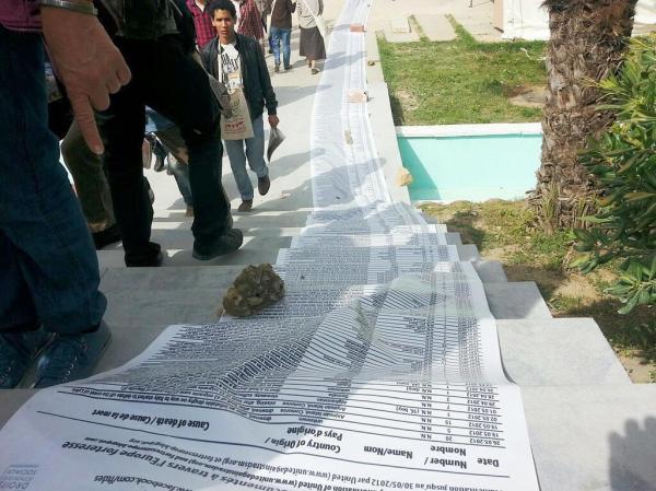 I migranti morti in Mare Lista dei nomi