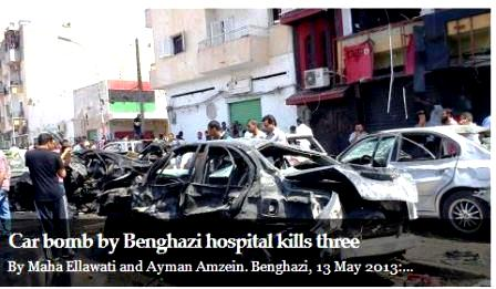 Car bomb Bengasi