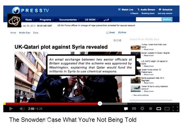 Iran press su Snowden