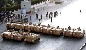 i tanks al Cairo