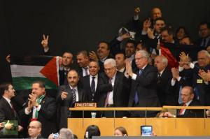 Palestina celebra voto  UN
