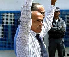 Vanunu's release from an Israeli prison