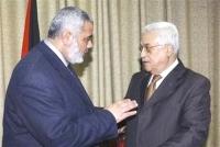 Ismail Haniyeh e Abu Mazen