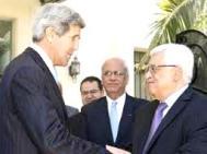 Kerry e Abu Mazen