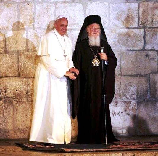 Papa Francesco  Patriarca Bartolomeo