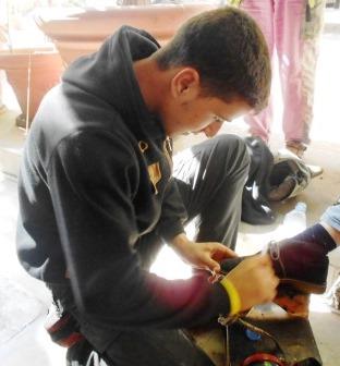 lustrascarpe sciuscià profugo Siria