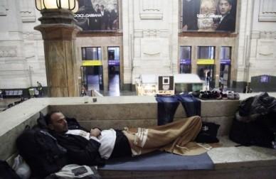 siriano in stazione centrale