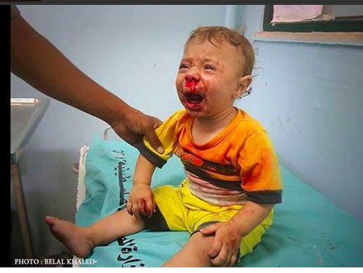 bambino di Gaza