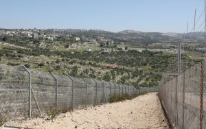 Israeli Wall in Belin