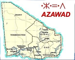 mappa AZAWAD
