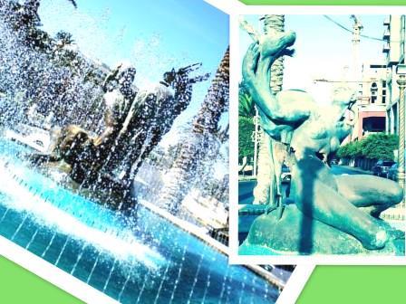 La Fontana della Gazzella: prima e dopo la rivoluzione