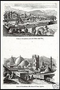 stampa  1800 Gerusalemme