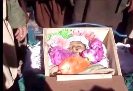 piccola vittima di drone pakistan