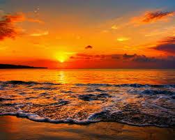 sunset gaza