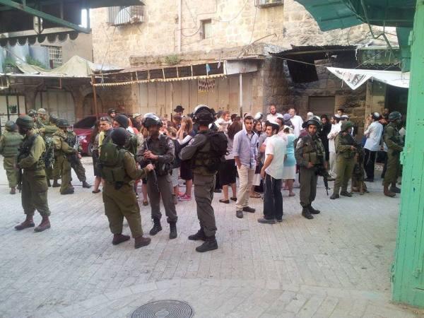 soldati idf hebron