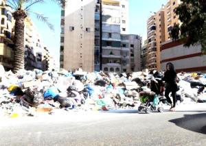 libano spazzatura