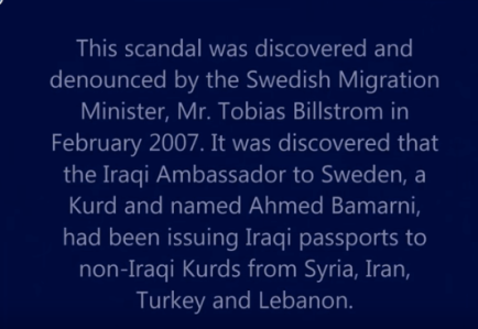 passaporti falsi per curdi svezia