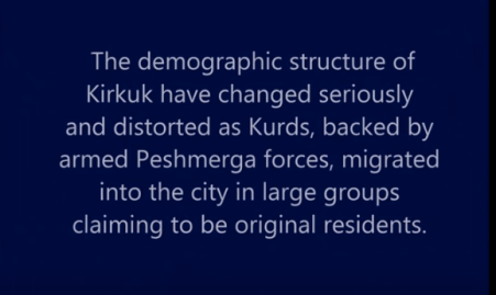 Curdi iraq contro turcomanni