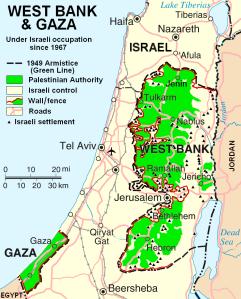israele-cisgiordania-gaza