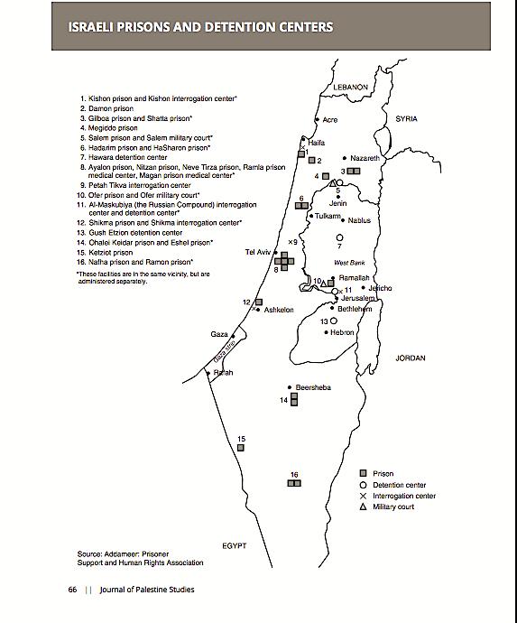 israele-prigioni-mappa-