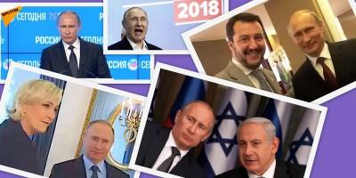 Putin, i media e gli amici